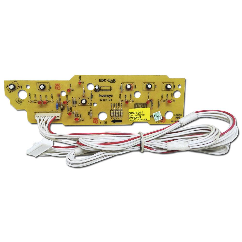 Placa Interface Lavadora Brastemp Bwc10 BWG10 BWF09
