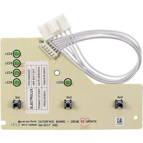 Placa Interface Electrolux Lte12 - 64502207
