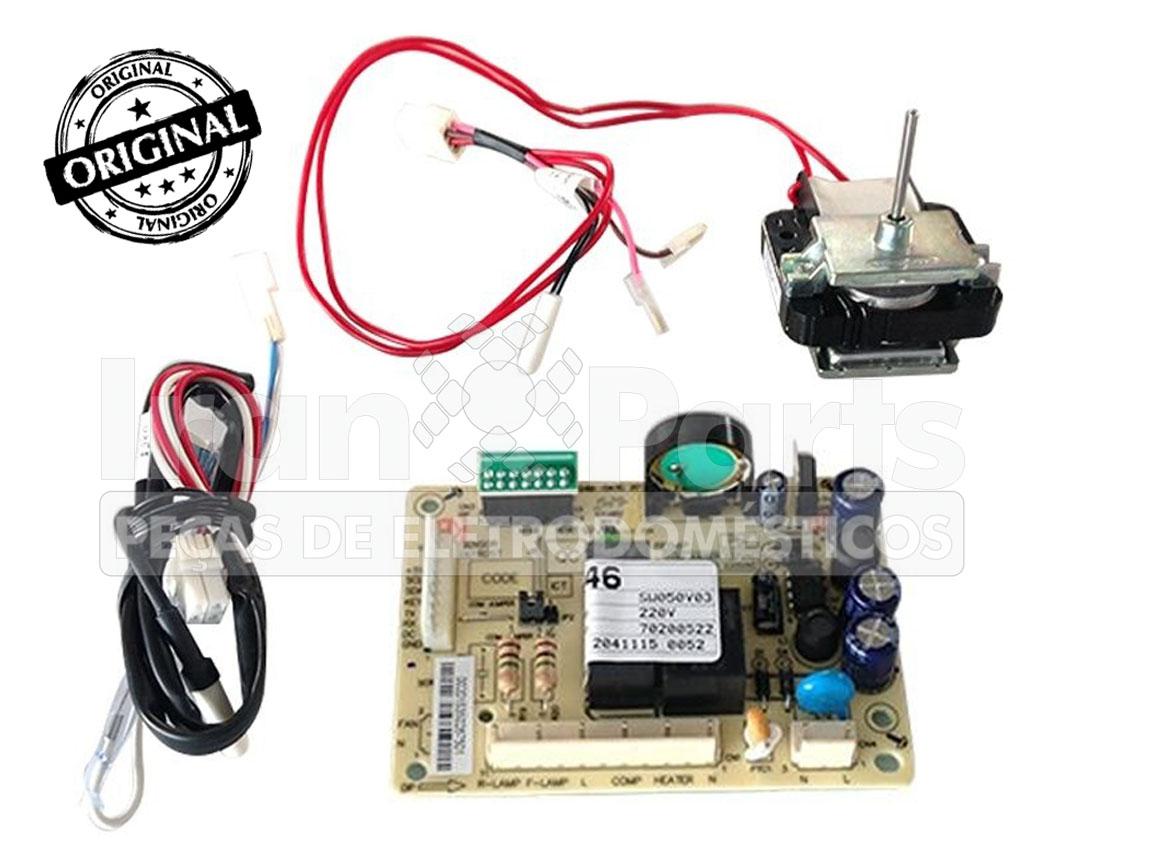 Kit Placa Sensor Electrolux Df46 Df49 220V