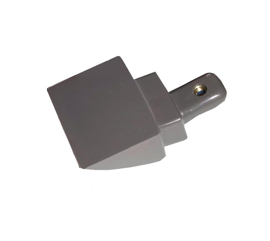 Suporte Prata Puxador Electrolux Df51X Df52X Dw42X Dw52X