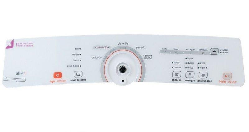 Placa Interface Lavadora Brastemp Bwg11Ab - W10463578