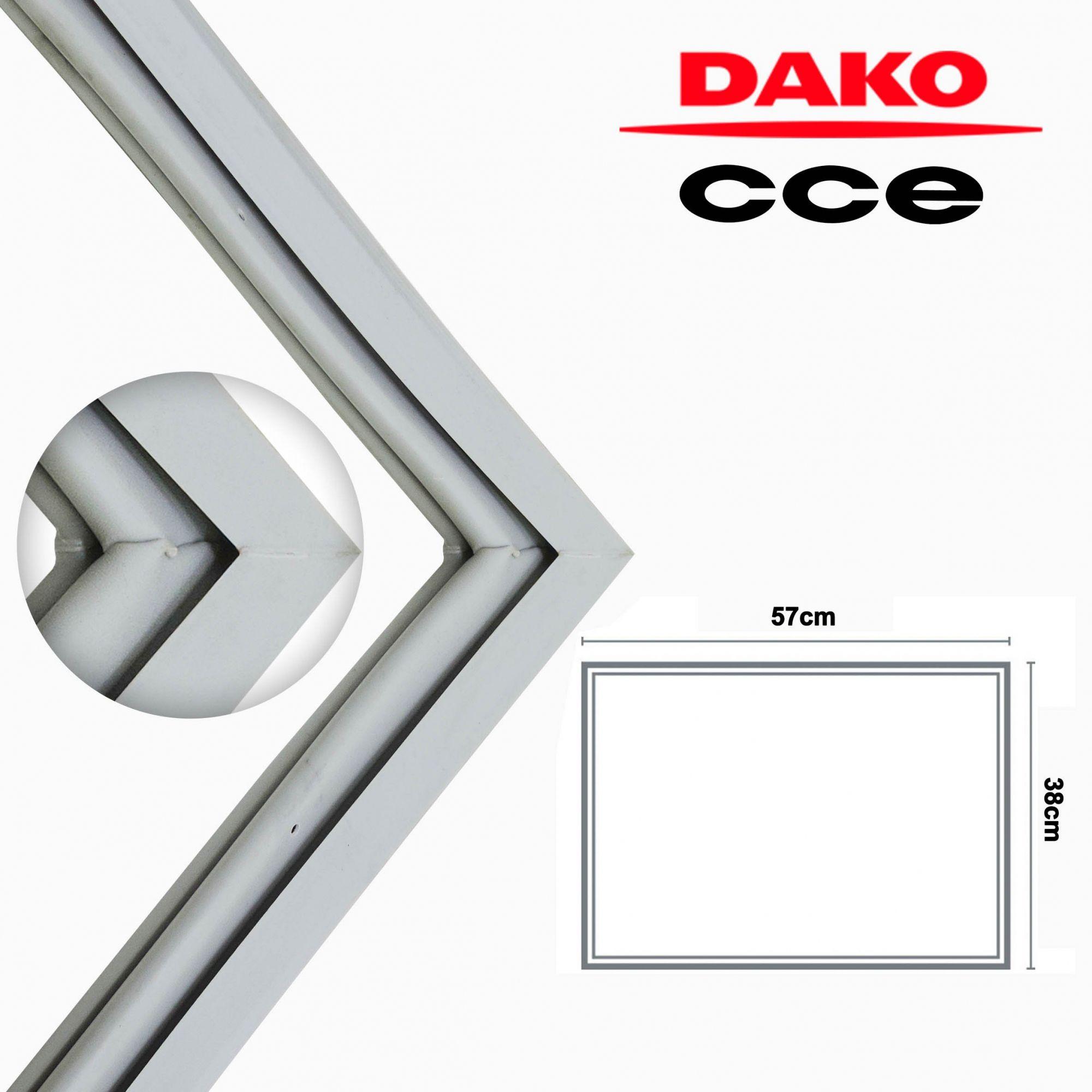 Borracha Gaxeta Superior Refrigerador Dako 350 360 380 Redk370 Redk380