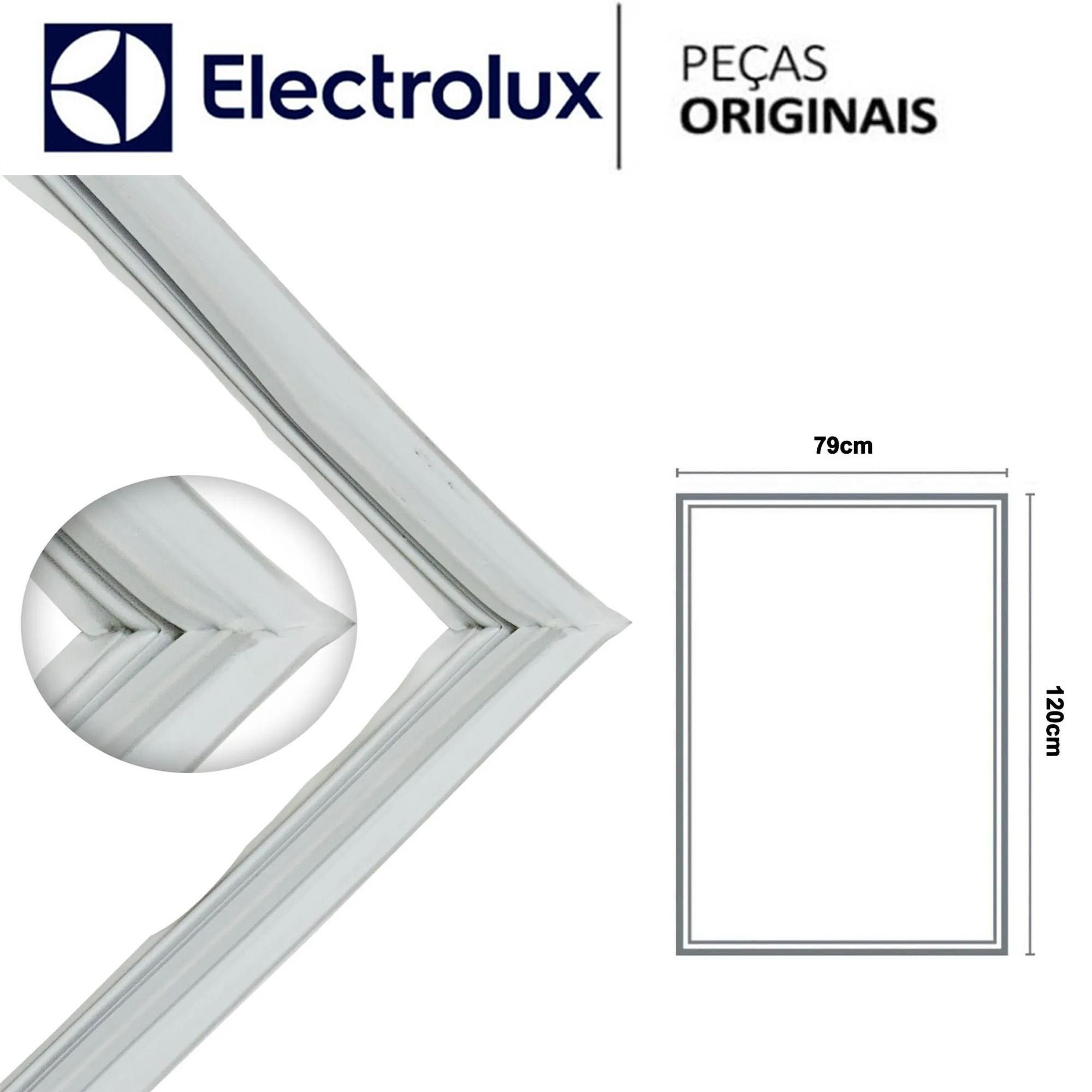 Borracha Gaxeta Inferior Geladeira Electrolux DI80X DT80X DF80