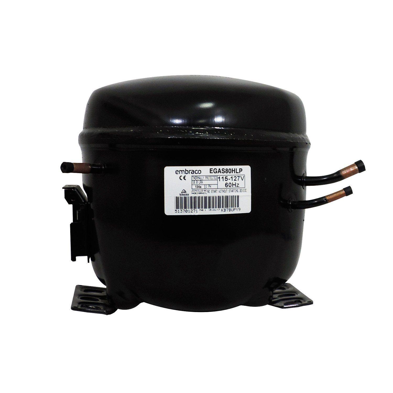 Compressor Embraco 127V 1/4 EGAS80HLR 134A DC47