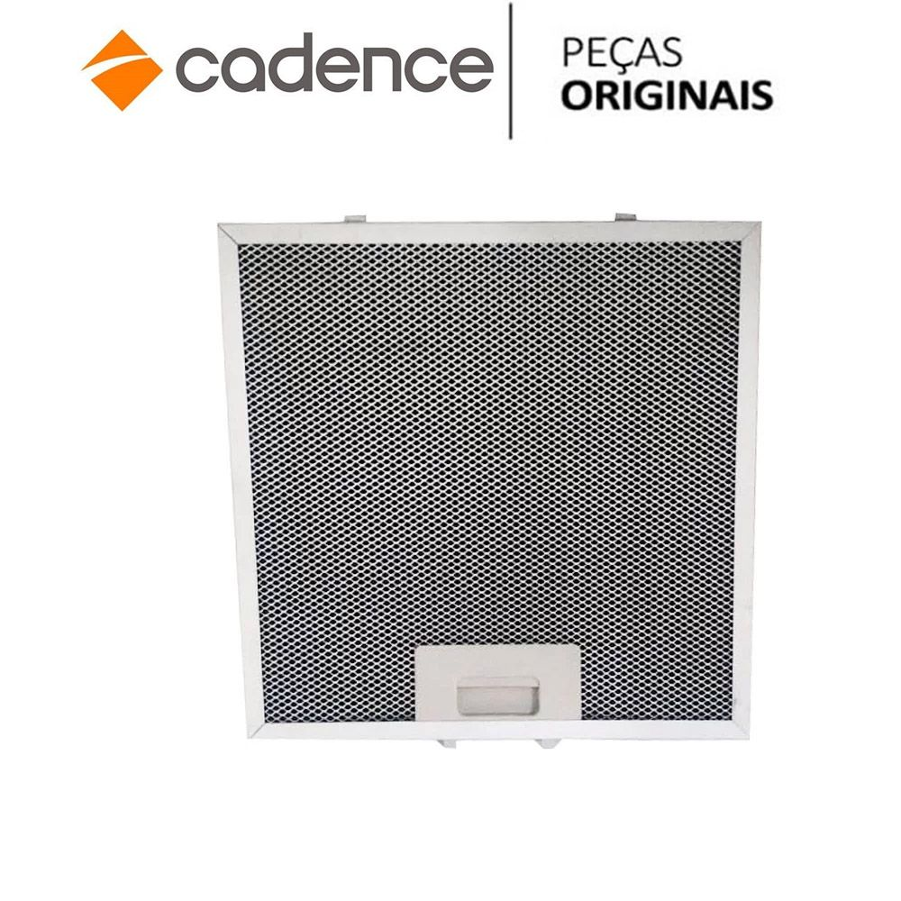 Filtro Metálico Coifa Cadence Gourmet Cfa361 CFA362 32x28cm