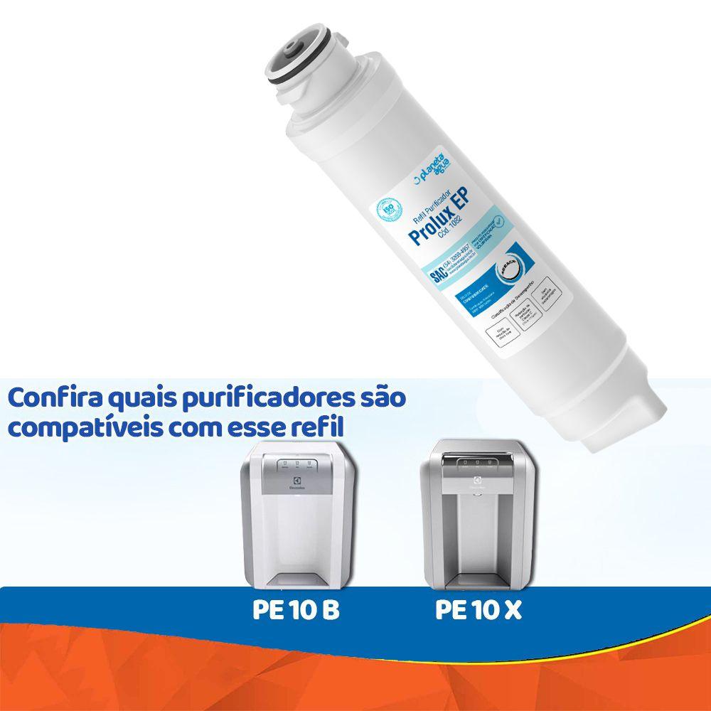 Filtro Refil Purificado De Água Pe10B Pe10X PLANETA ÁGUA