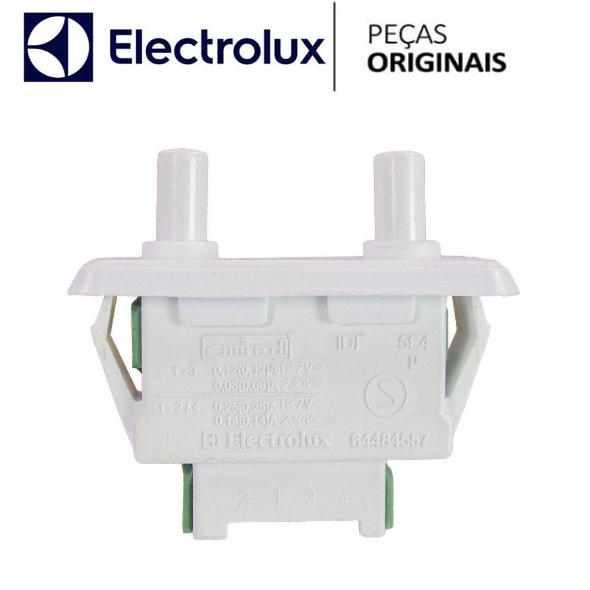 Interruptor Duplo Refrigerador Electrolux 64484457