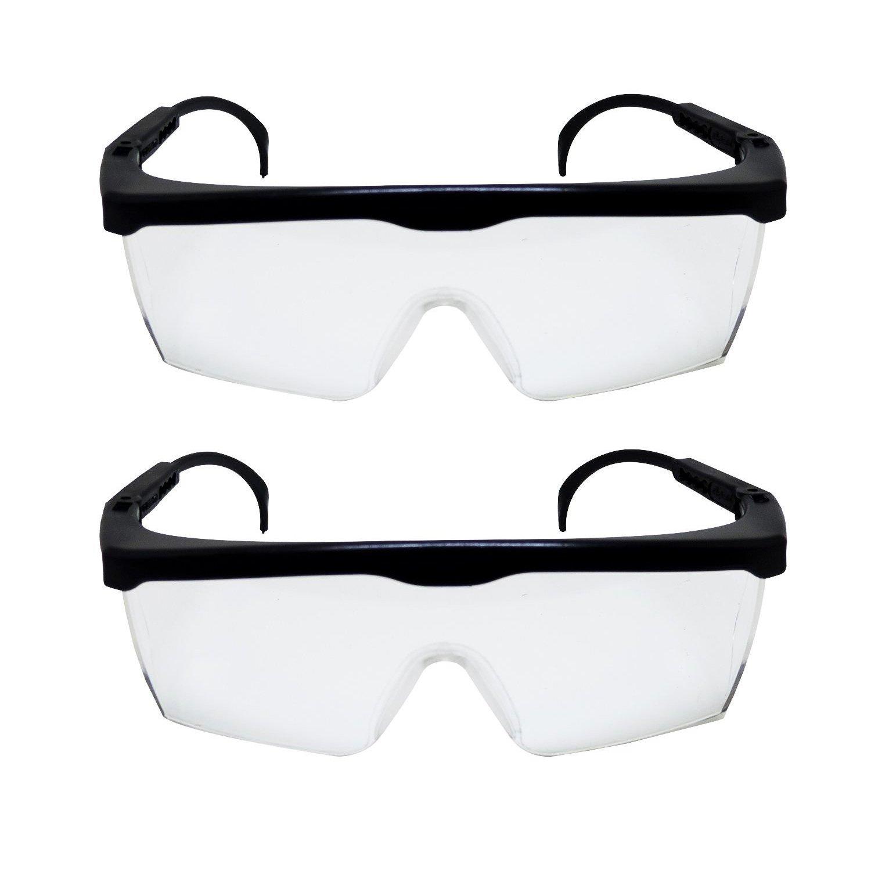 ee003c6d1ebcd Kit 2 Óculos Proteção Transparente De Segurança Do Trabalho - IRAN PARTS ...