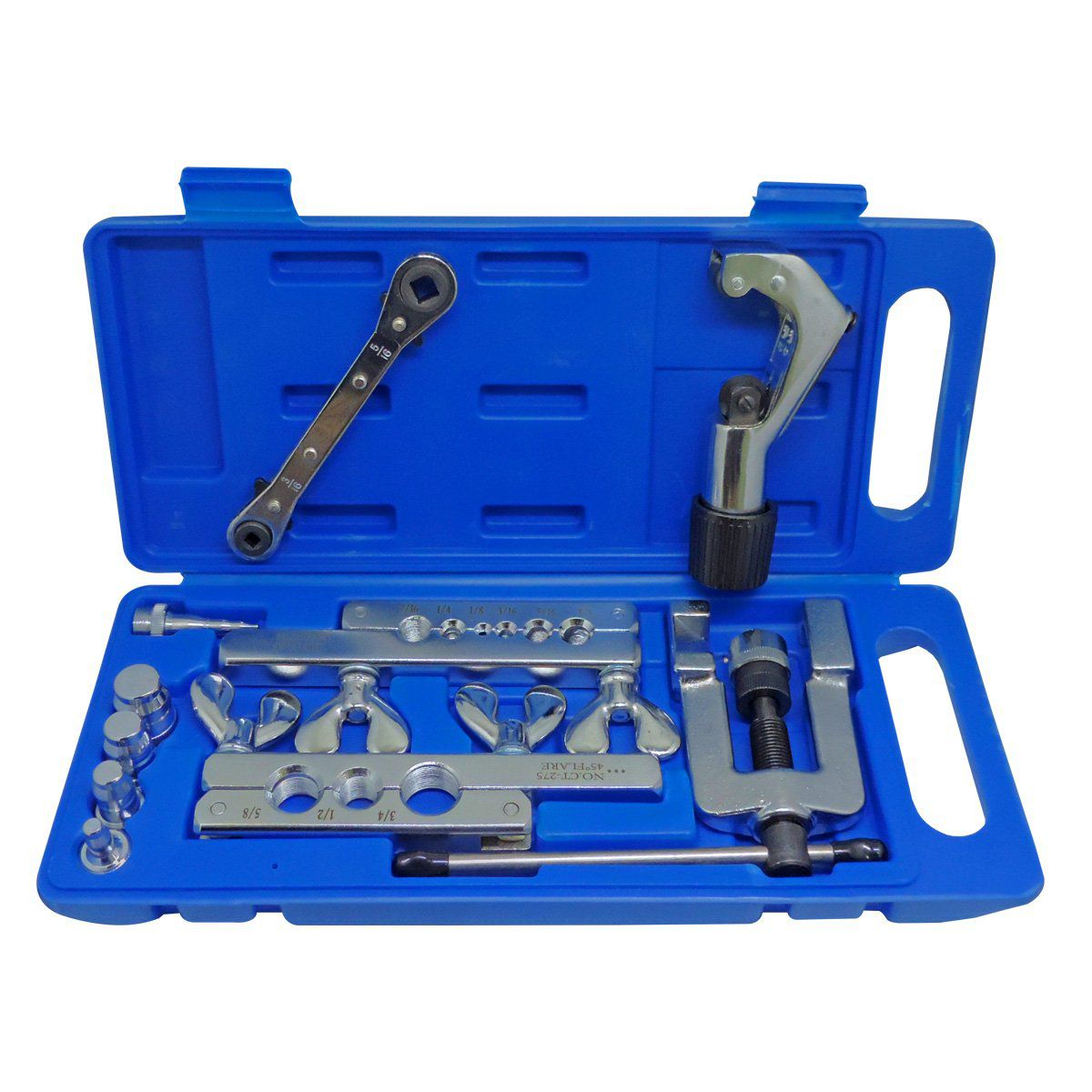 Kit Flangeador Gt278 1/8 À 3/4 Chave Catraca Completo