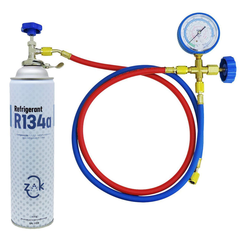 Kit Recarga Gás Dupont R134a Refrigeração E Automotivo
