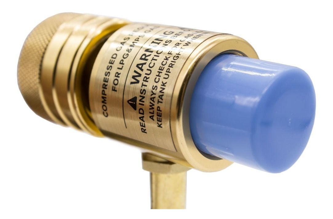 Maçarico Portátil Acendimento Automático Tubo Giratório