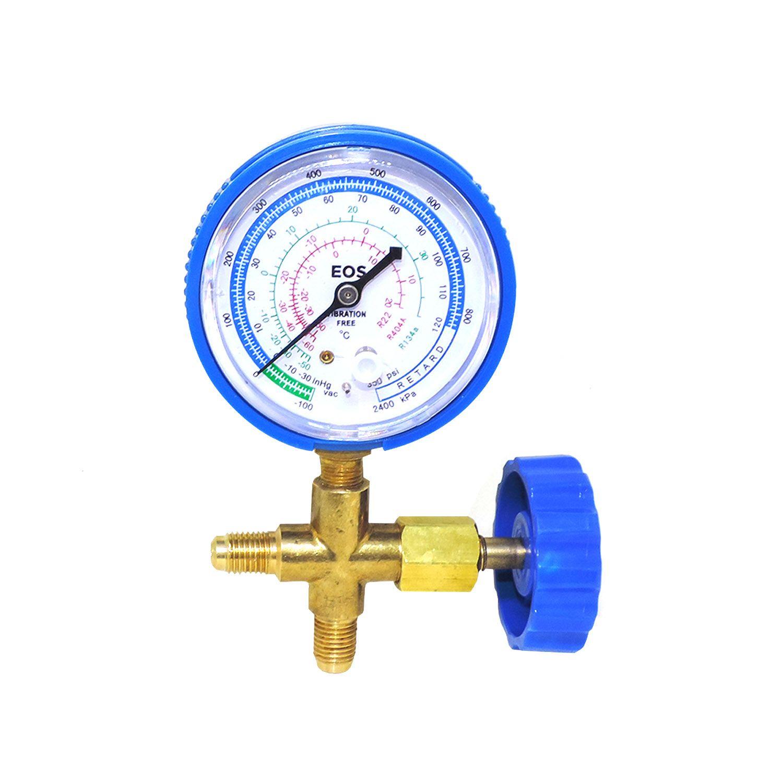 Manifold Simples Baixa R134 R22 R404A S/ Mangueira