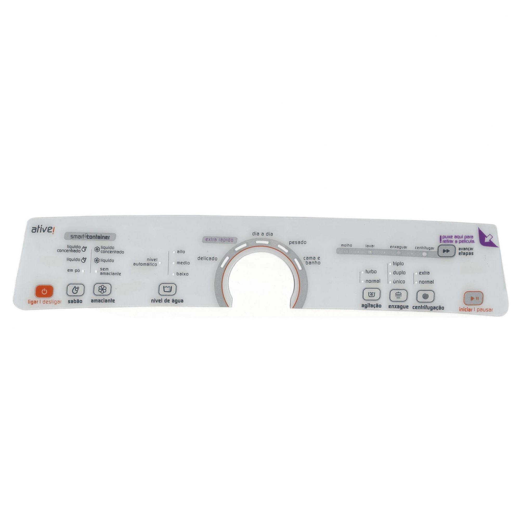 Membrana Branca Lavadora Brastemp Bwu11 W10463580