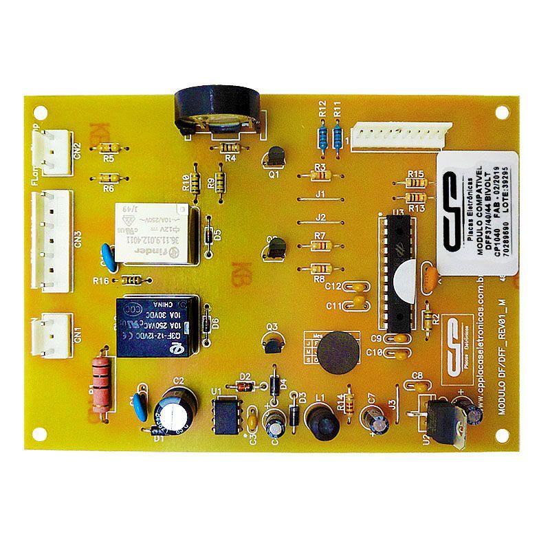 Placa Controle Ht Refrigerador Electrolux Dff Bivolt
