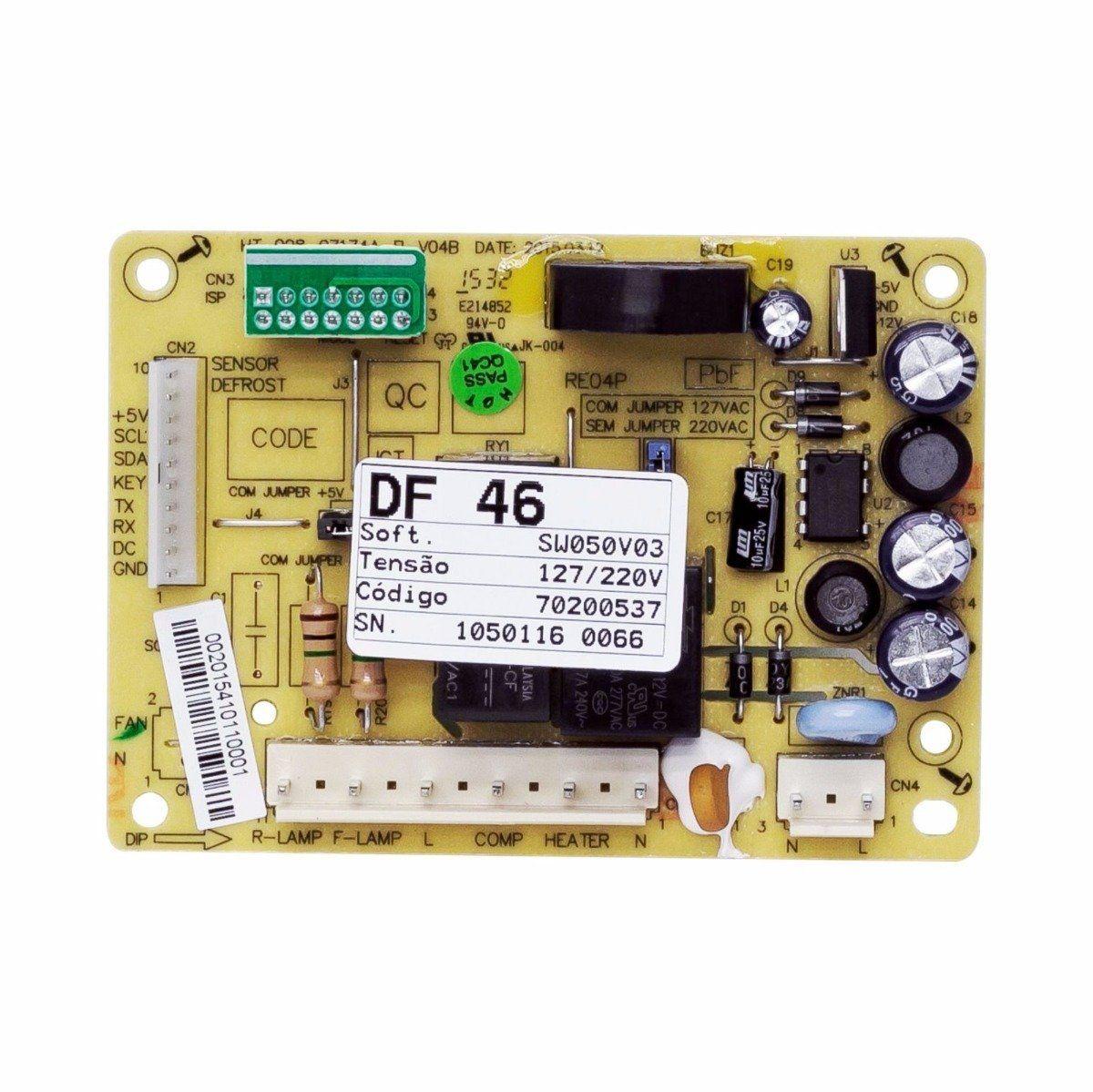 Placa Potencia Geladeira Electrolux Df46 Df49 70200537 ORIGINAL