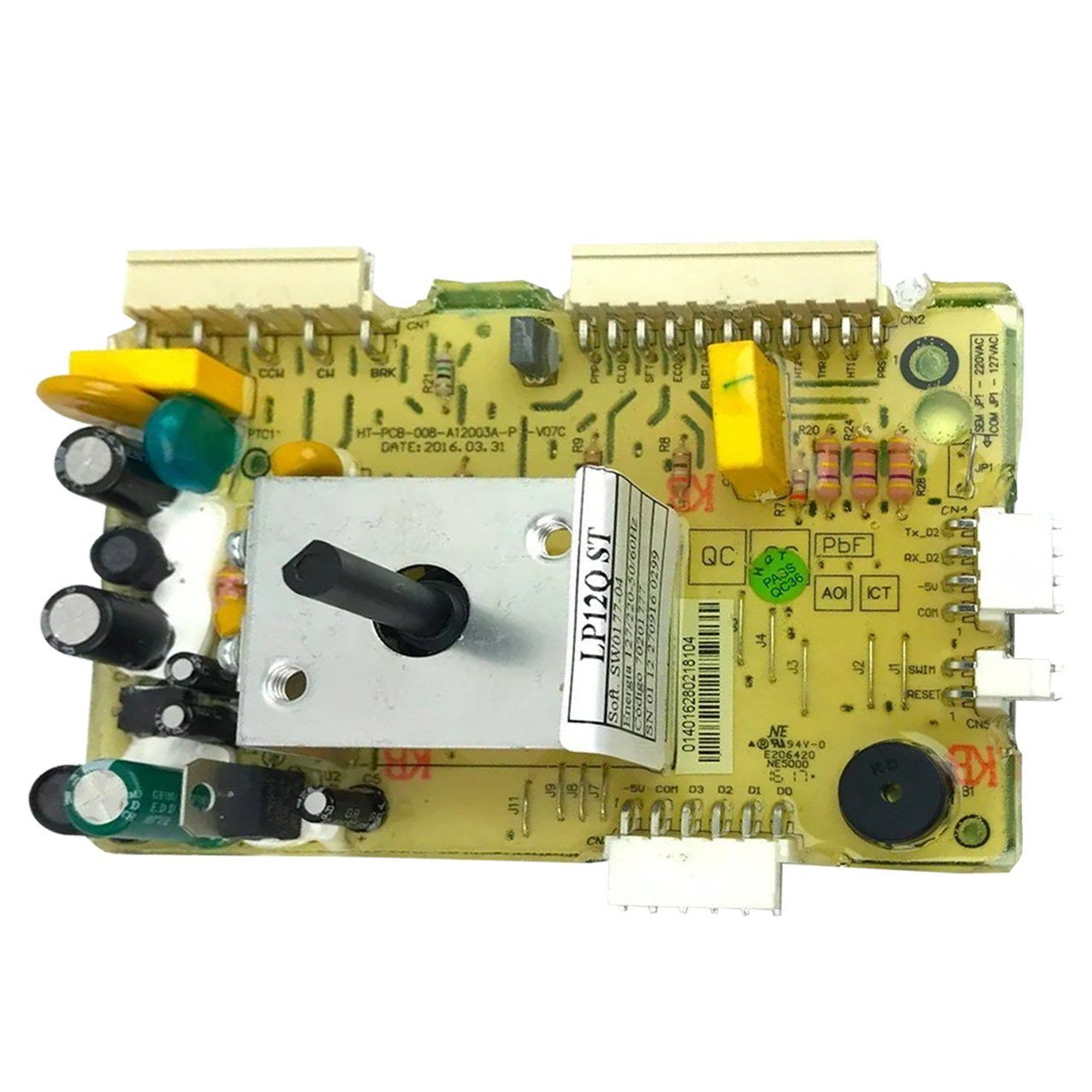 Placa De Potência Lavadora Electrolux Lp12Q - 70201777