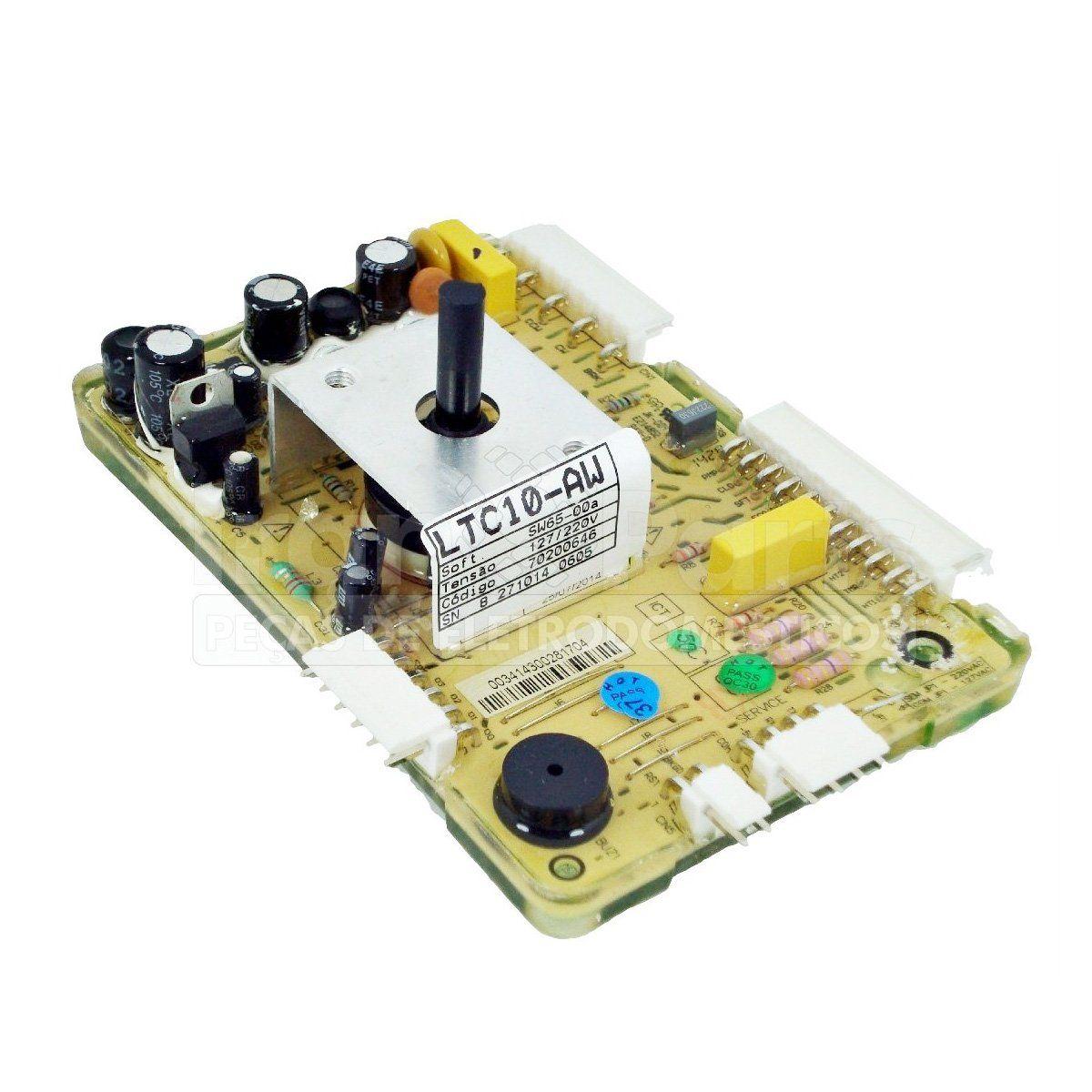 Placa De Potência Lavadora Electrolux Ltc10 - 70200646