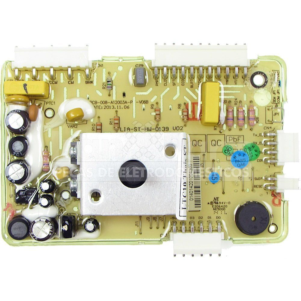 Placa Potência Lavadora Electrolux Ltc10 70200646 ORIGINAL