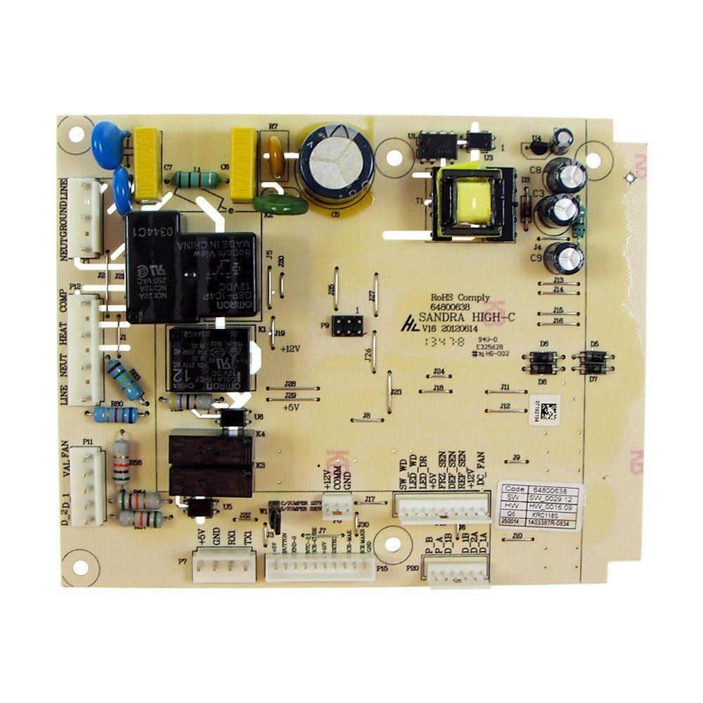 Placa De Potência Refrigerador Electrolux 127V Dfi80 Di80
