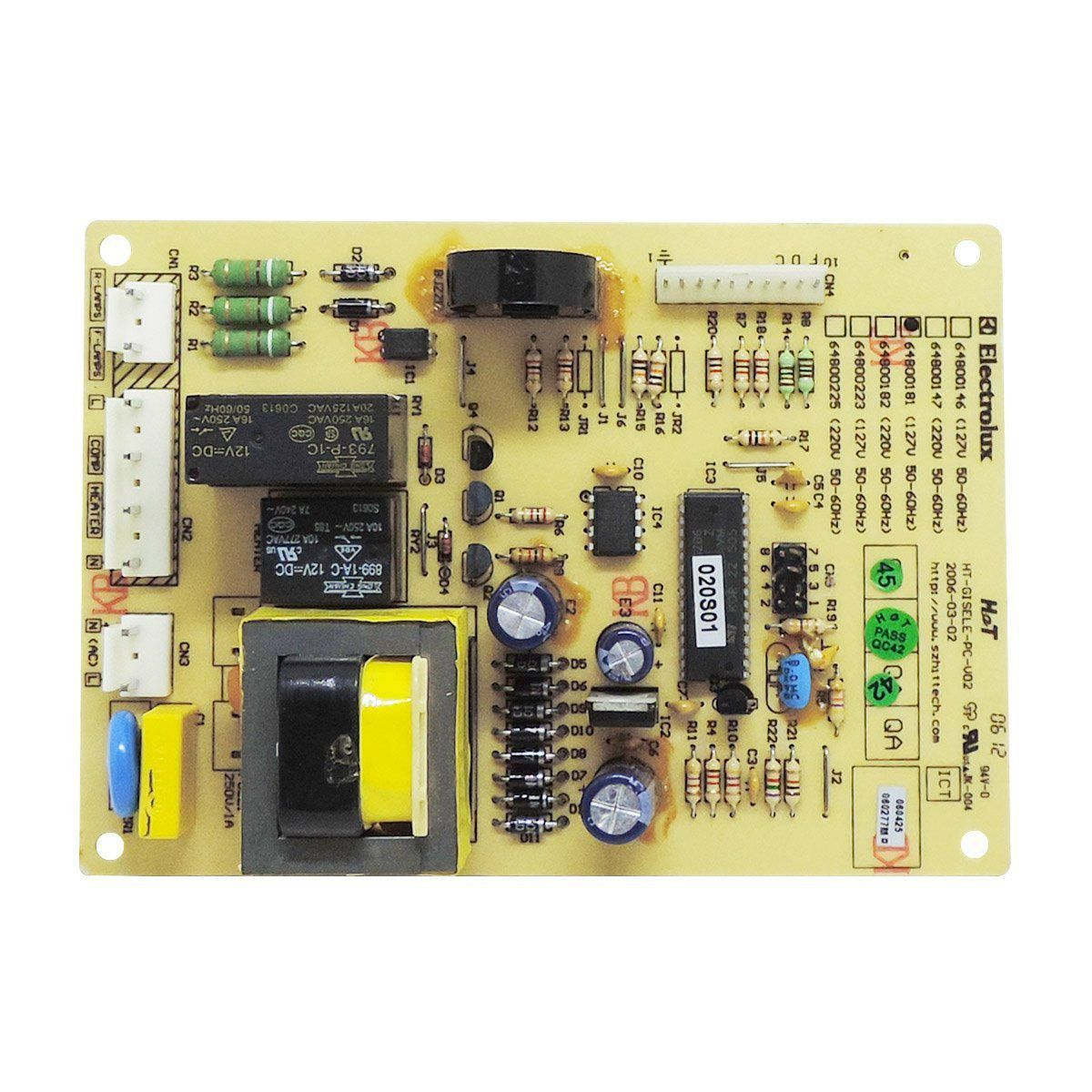 Placa De Potência Refrigerador Electrolux Df38 Df41 Df45