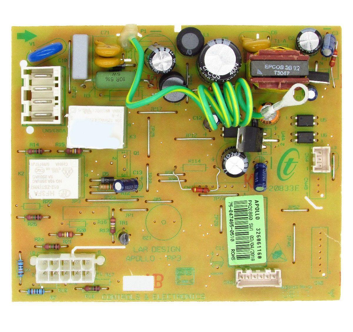 Placa Eletrônica Módulo Potência Brastemp Brm47 326061171