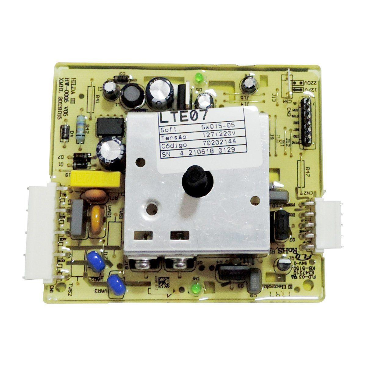 Placa Potencia LAVADORA Electrolux Lte07 70200100 70202144