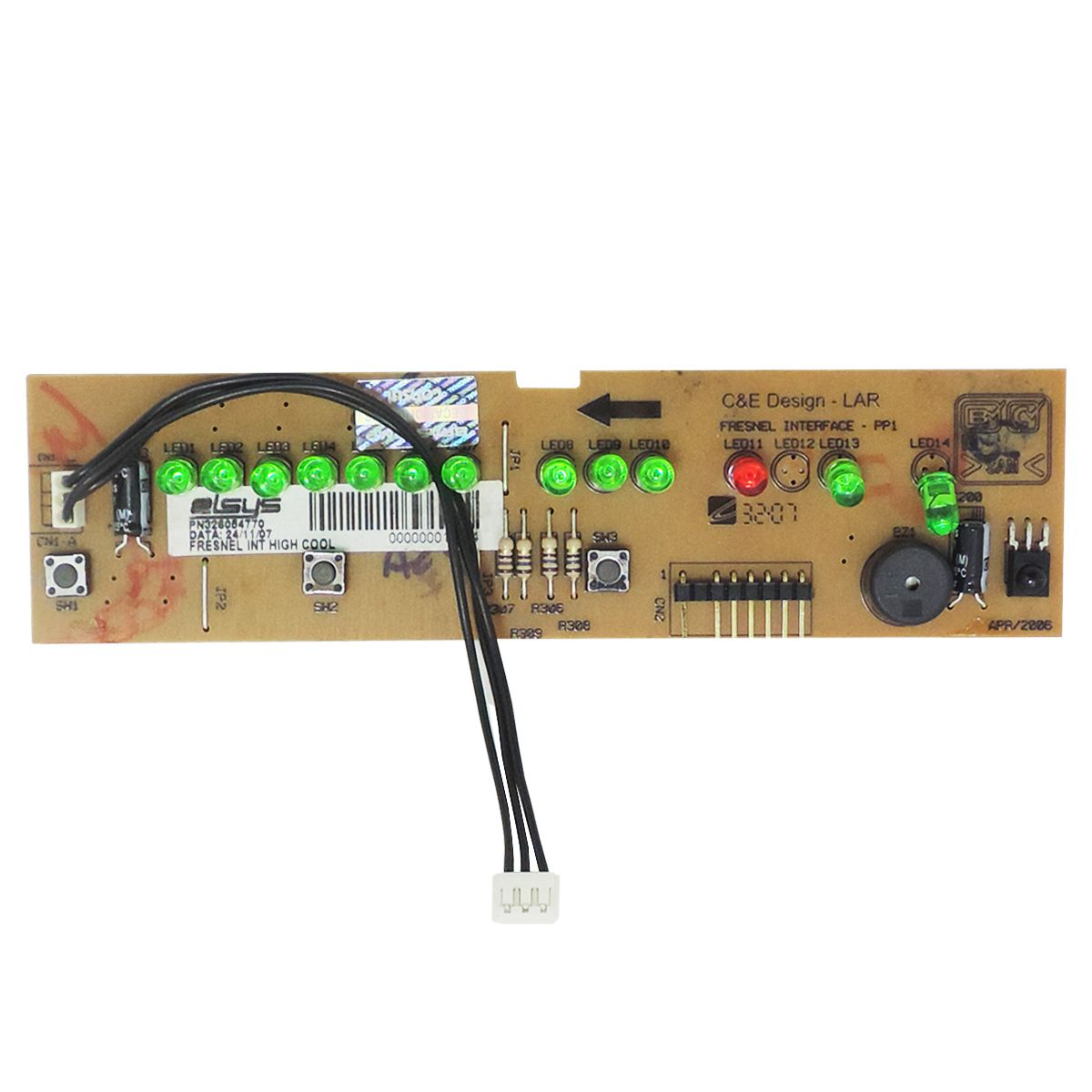 Placa Interface Ar Condicionado Consul Cc307 Cc310 Ccg10 Ccn07 Ccn10