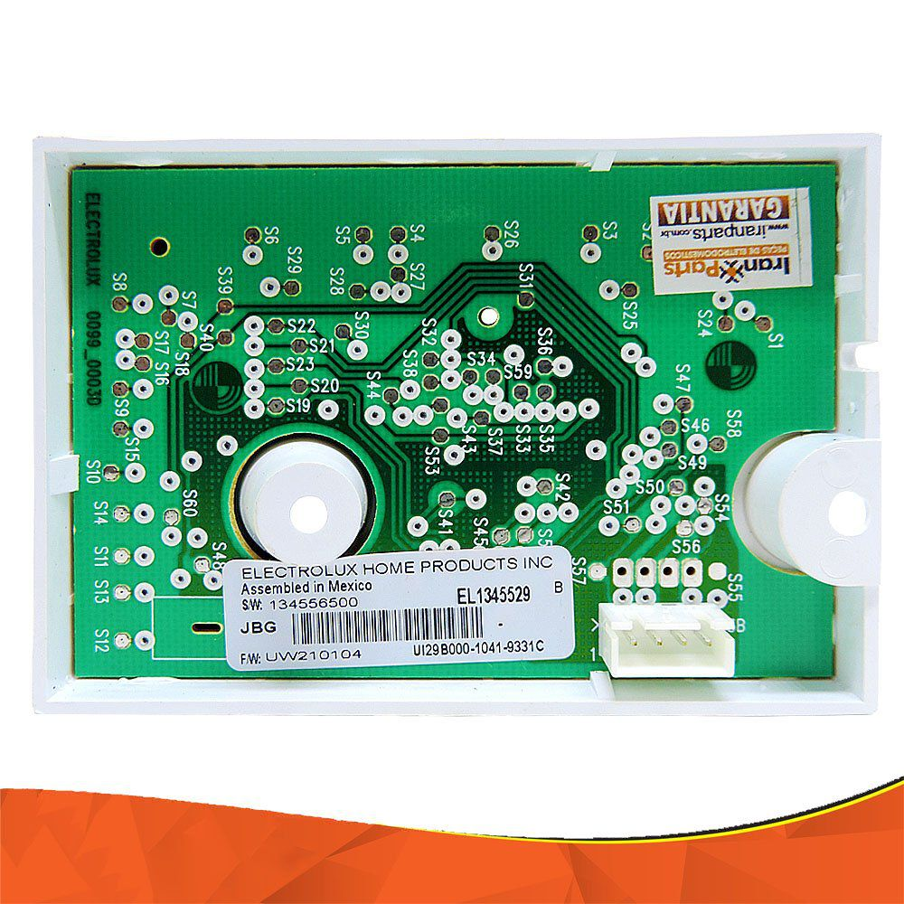 Placa Interface Auxiliar Lavadora Electrolux TRW10 34556500
