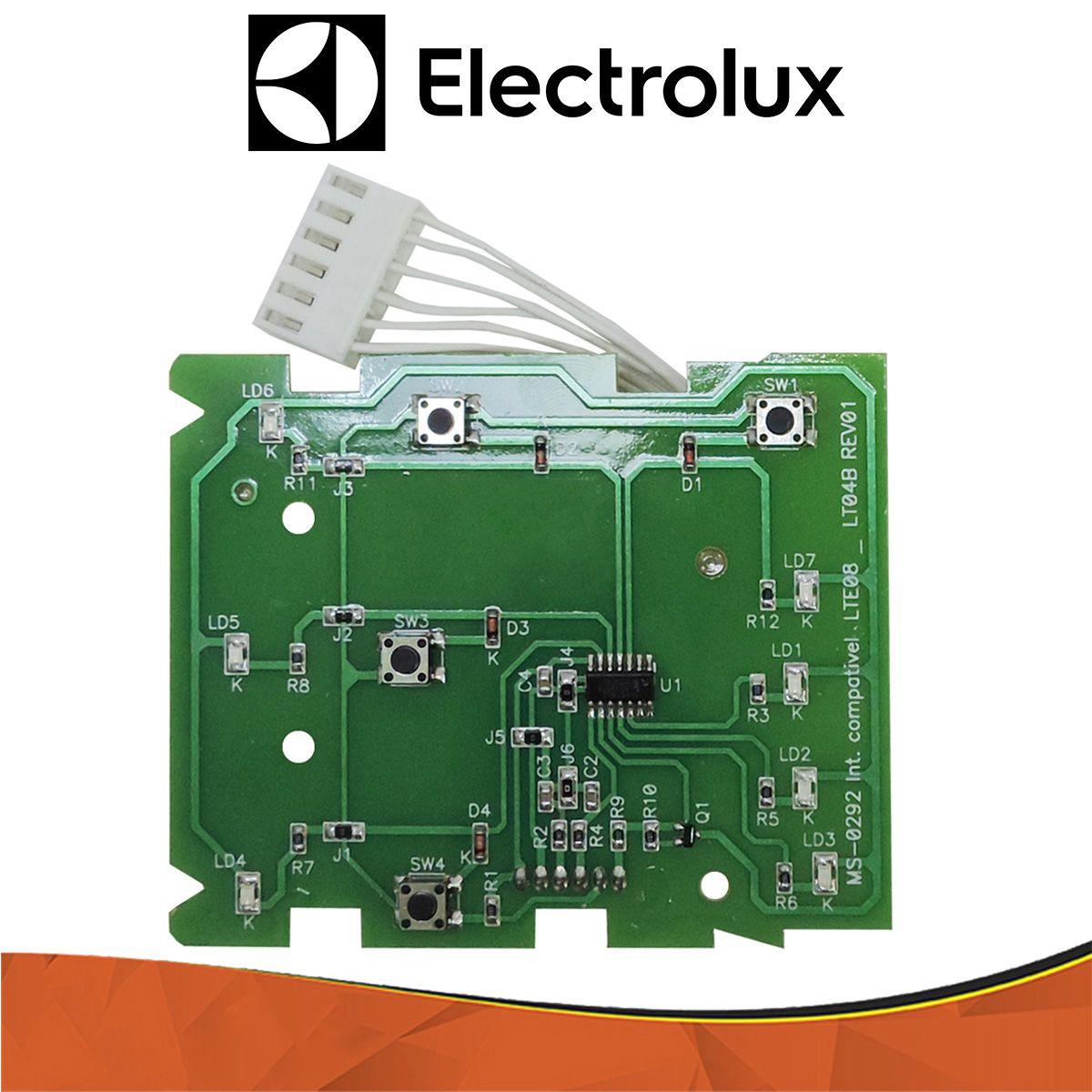 Placa Interface Compatível Electrolux Lte08 64500292 CDI