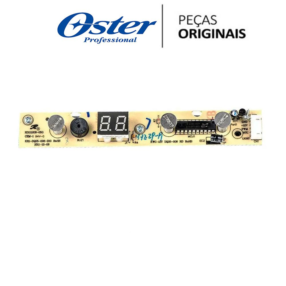 Placa Interface Display Adega OSTER OADE121 Original