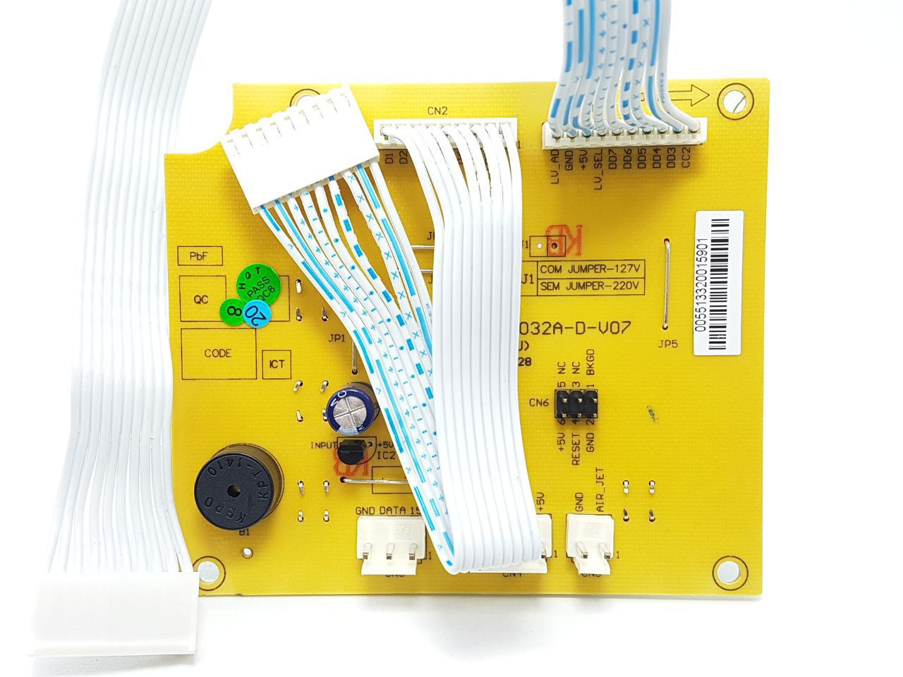 Placa Interface Lavadora Electrolux Lta15 - 64800260