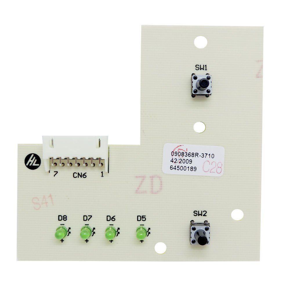 Placa Interface Lavadora Electrolux LTE09 Top Load 9KG 64500189