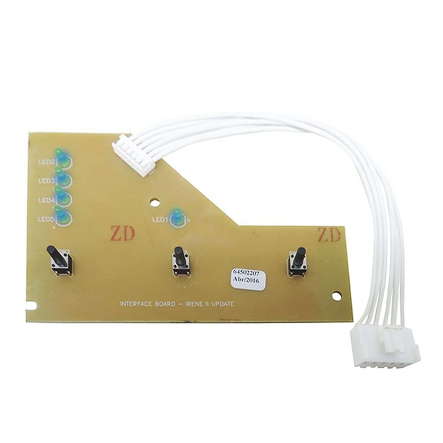 Placa Interface Led Azul Lavadora Electrolux Lte12 64503081 CDI