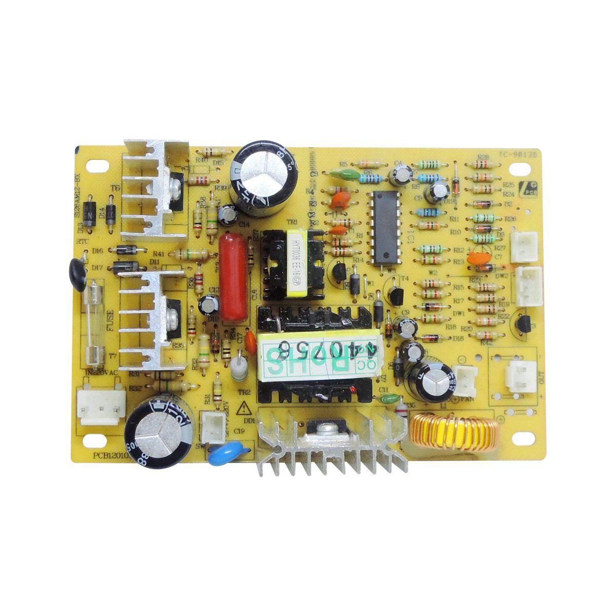 Placa Potência 127V Purificador Electrolux Pa20G Pa25G Pa30G