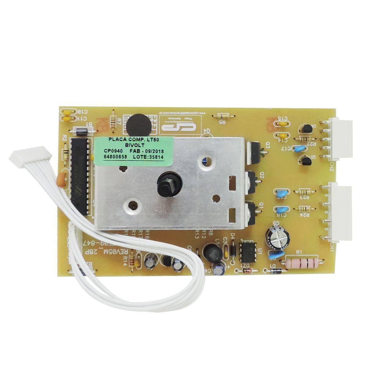 Placa Potência Cp Bivolt Lavadora Electrolux Lt60 64800658
