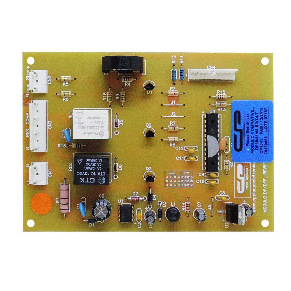 Placa Potência CP PLACAS Refrigerador Electrolux Df38 Df41 Df45 70289468