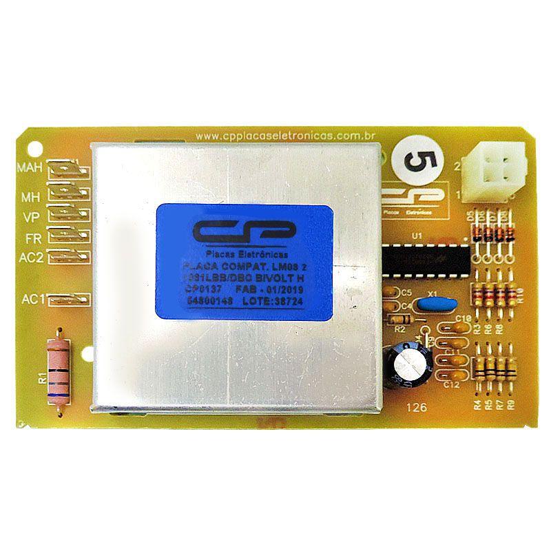 Placa POTENCIA Lavadora Electrolux Cp LM08 64800148