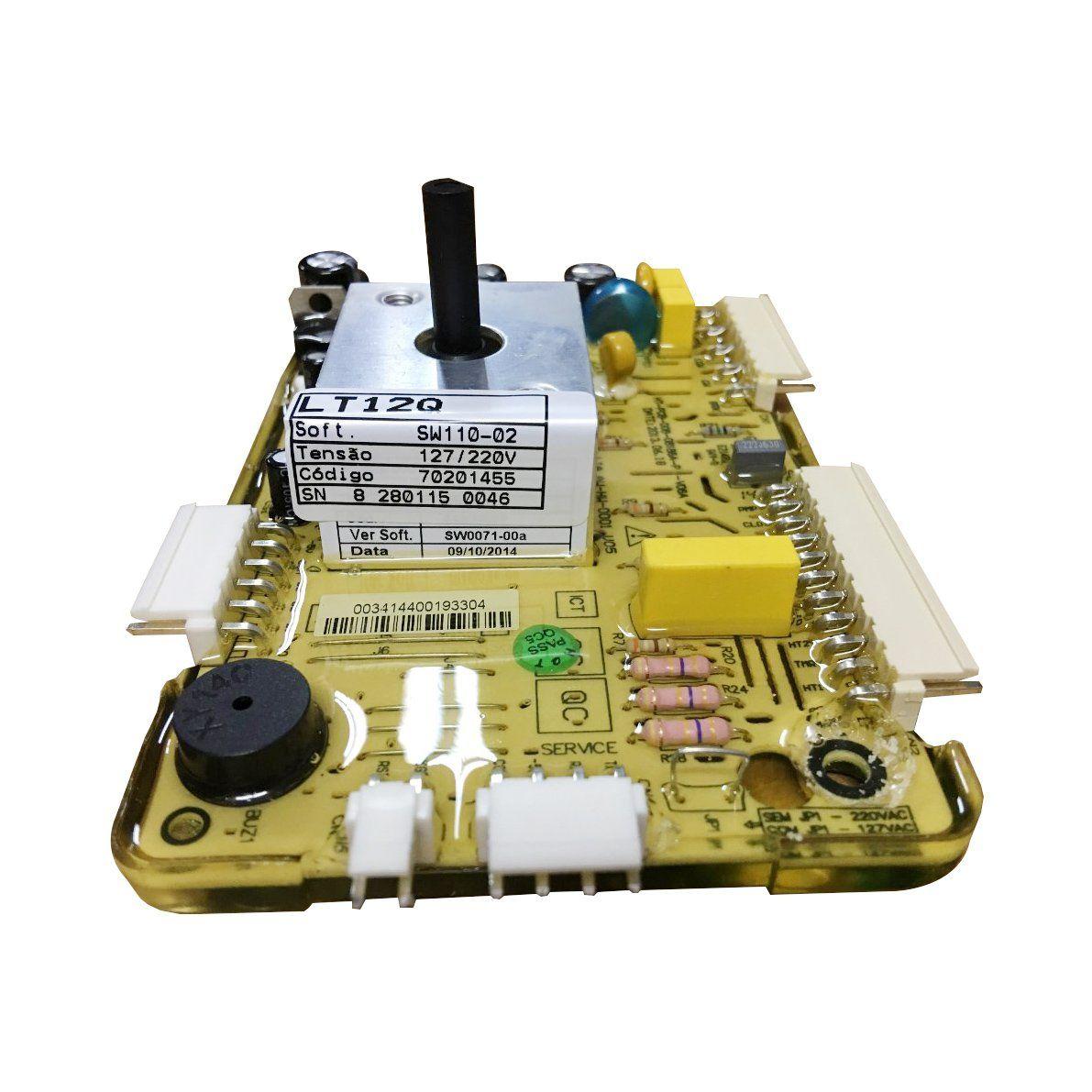 Placa Potencia Lavadora Electrolux  Lt12Q