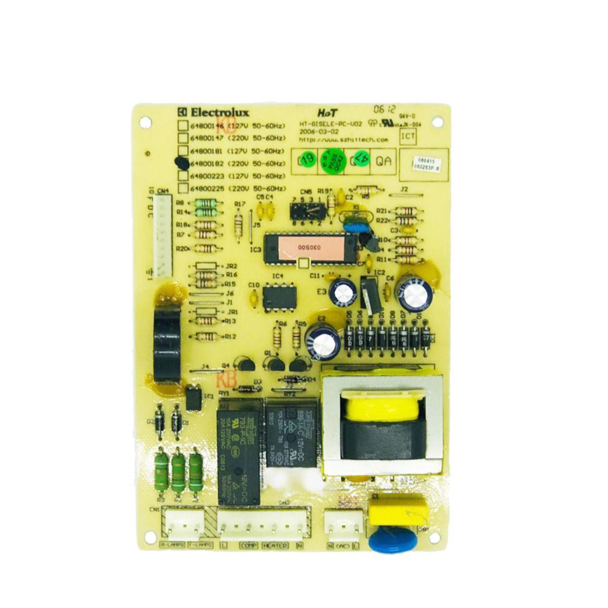 Placa Potência Refrigerador Electrolux 127V Df43 Df46 Df48 Df49