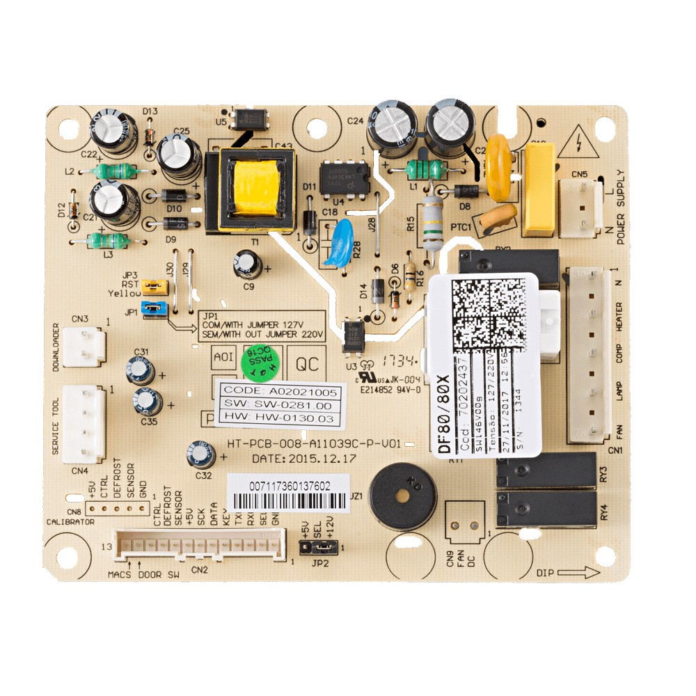 Placa Potência Refrigerador Electrolux Df80 Df80X 70202437