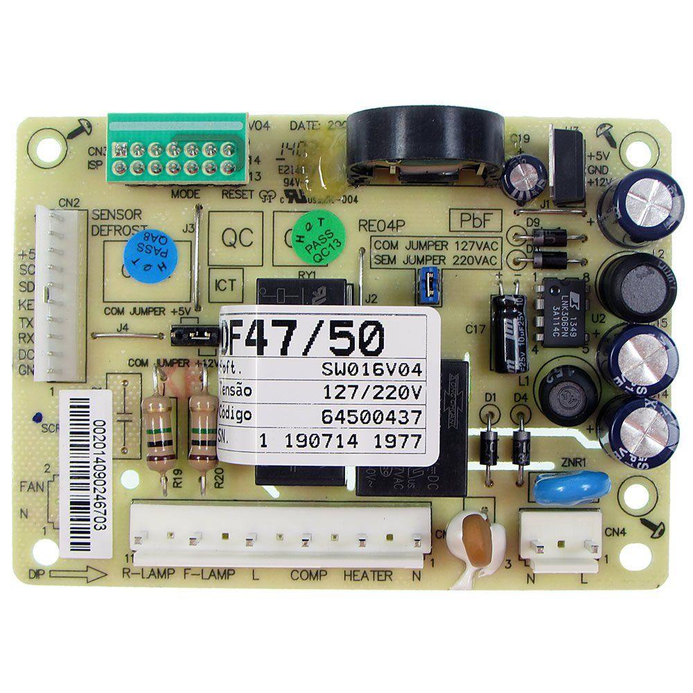 Placa Refrigerador Electrolux Df46 Df47 Df49 Df50 - 64500437