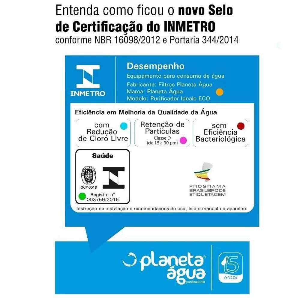Refil Filtro Purificador Água Soft Everest Baby Fit Slim Star Plus
