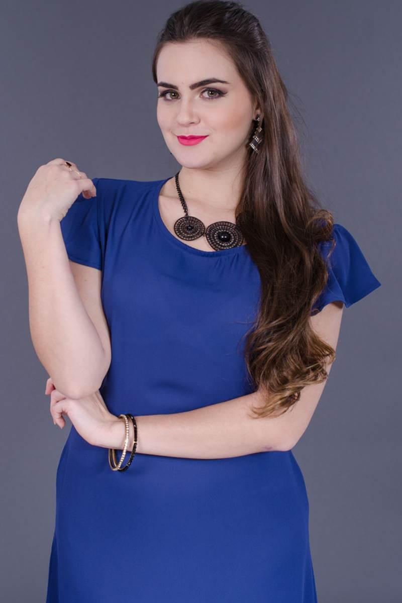 Vestido Modaris Marinho 34077