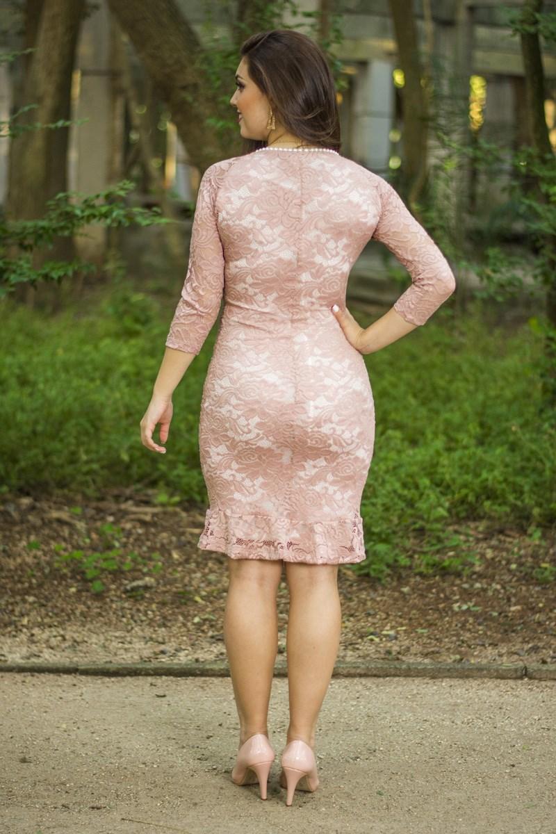 Vestido rose Carla SC5