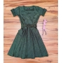 Vestido Midi / Godê Barbara Saia Bella  SRB897701 Verde