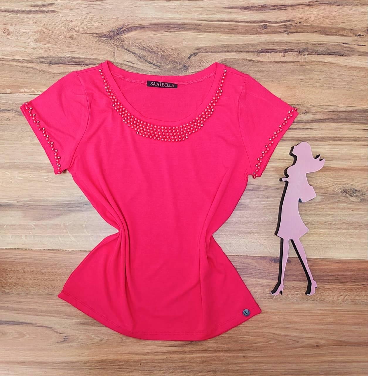 Blusa Analice  Saia Bella - SB4125655 Pink