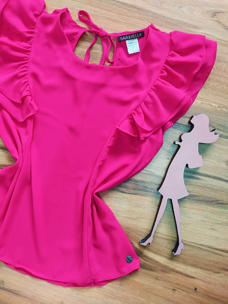 Blusa Beatriz Saia Bella - SB51074140 pink