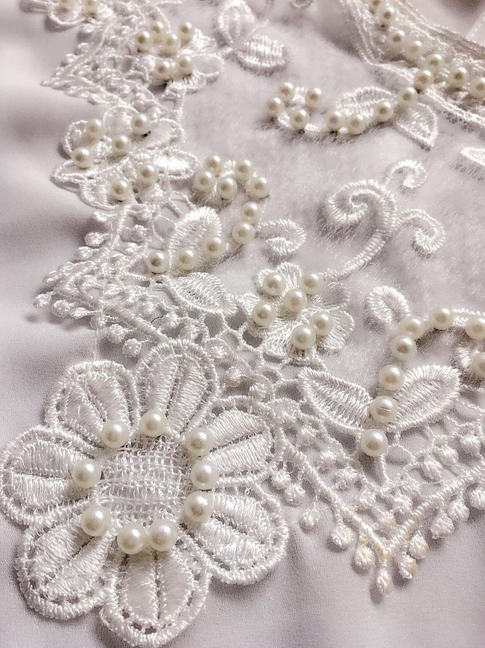 Blusa de Renda Saia Bella - SB9965 branco