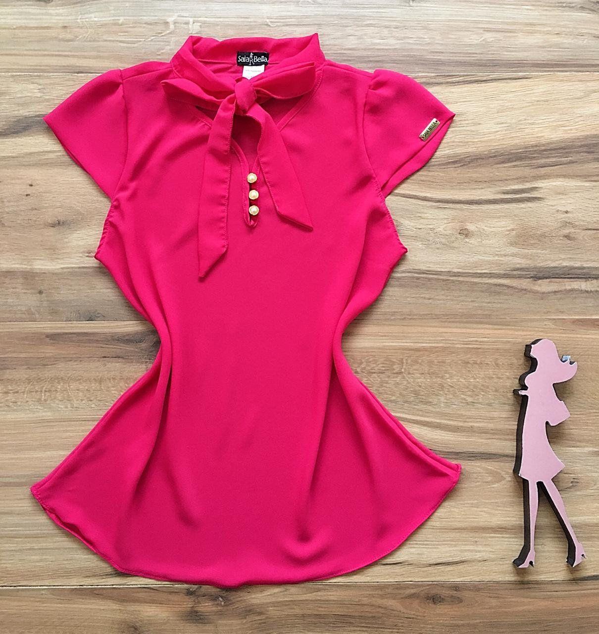 Blusa de Renda Saia Bella - SB9975  pink