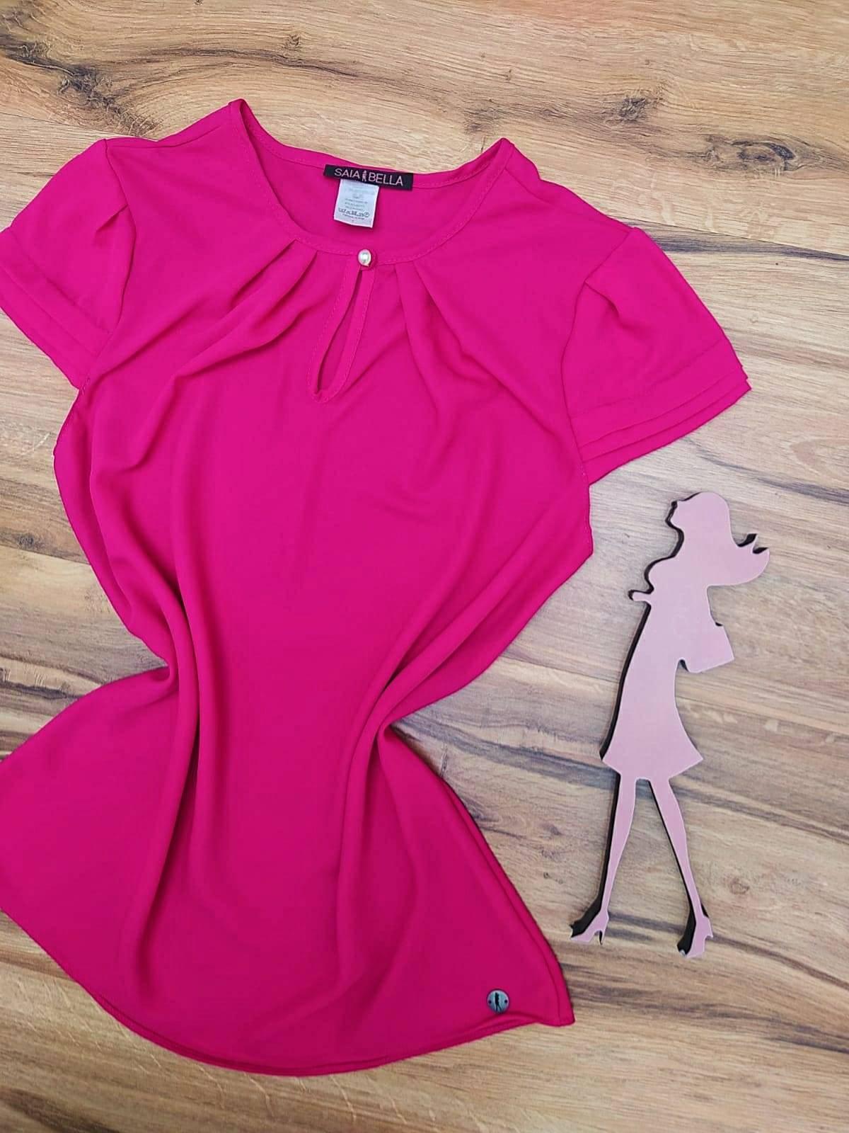 Blusa Jéssica Saia Bella - SB8018850 Pink